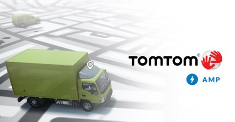 TomTom AMP-page