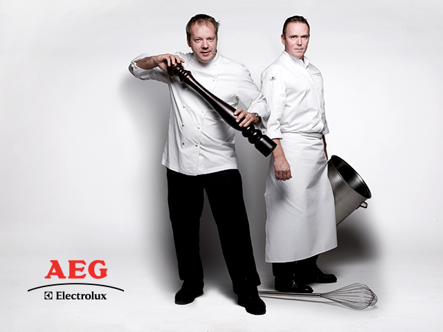 Cooking together with AEG