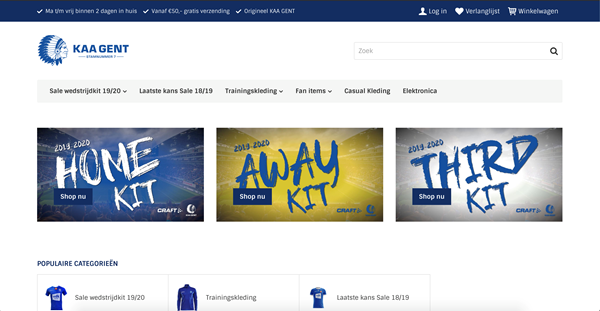 KAA Gent & Craft Sportswear join forces with Katana Commerce